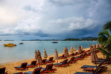 Strand von Koh Samui van
