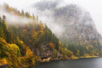 """Berglandschaft """"Herbst am Ufer"""" von Coen Weesjes"""