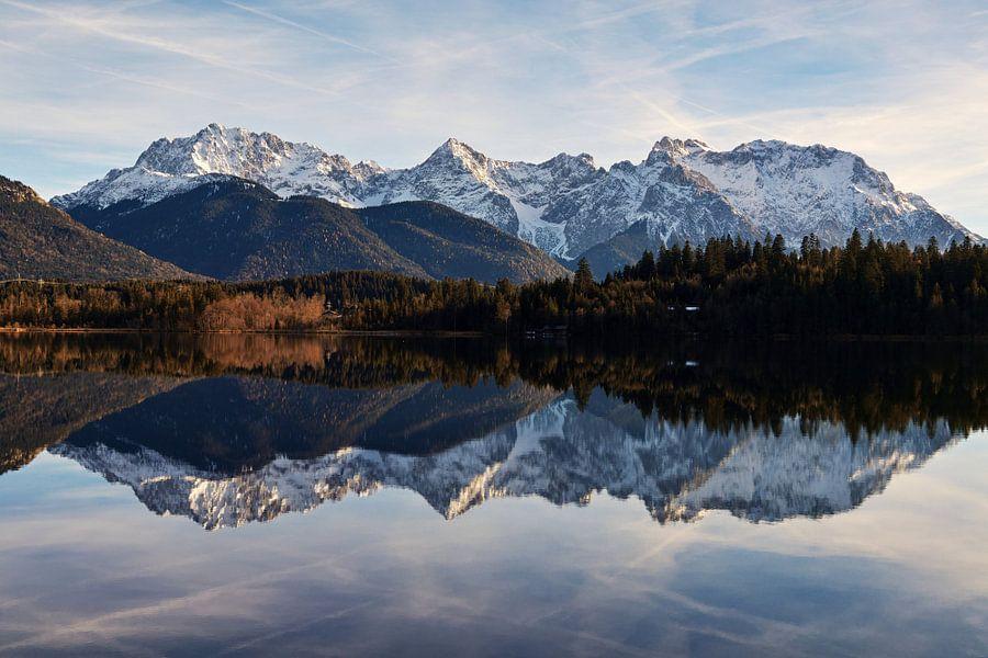 Karwendel Alpen van Peter Mahler