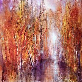 Der Herbst beginnt von Annette Schmucker