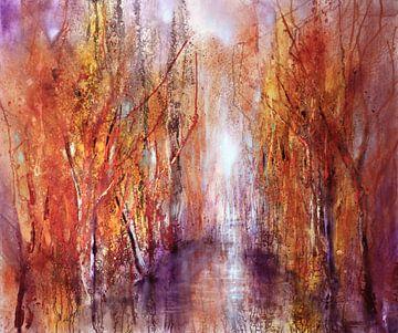 Efteråret begynder van Annette Schmucker
