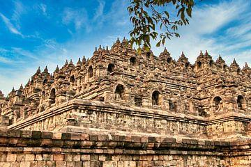 Borobudur N-O Hoek van Eduard Lamping