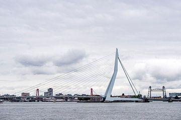 Skyline Rotterdam van Jeroen van Eijndhoven