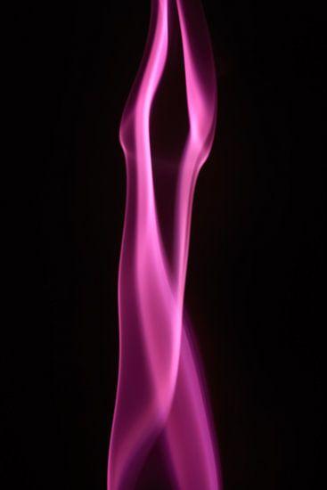 Smoking Pink with White
