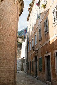 Straatje in Kotor