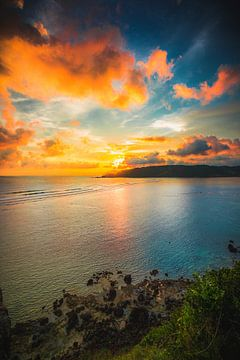 Lombok zonsondergang von Andy Troy