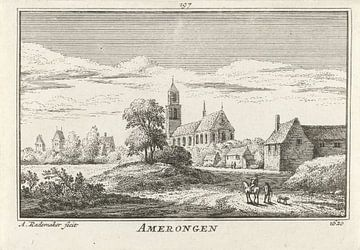 Abraham Rademaker, Vue d'Amerongen, 1620