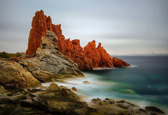Red Rocks of Arbatax van Wojciech Kruczynski
