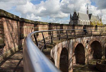 De Burcht in Leiden... van