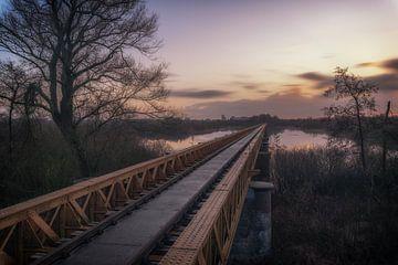 Alte Eisenbahnbrücke von Maikel Brands
