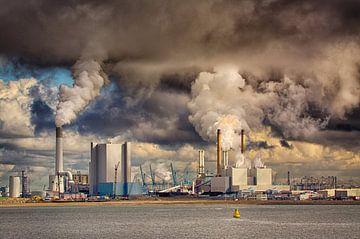 Centrale Maasvlakte, Rotterdam van Dick Kattestaart