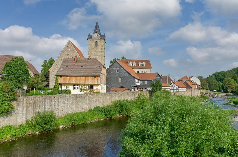 Themar sur la Werra, Thuringe sur Peter Eckert