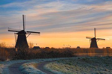 Moulins de Kinderdijk, Pays-Bas sur