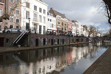 Oudegracht Utrecht reflectie