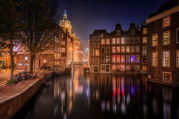 Amsterdam bei Nacht von Michiel Buijse