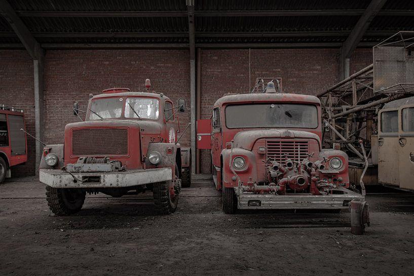 Alte Feuerwehrfahrzeuge von Robbert Wille