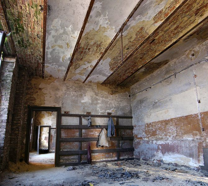 Abandoned coalmine in Belgium von Raymond Tillieu