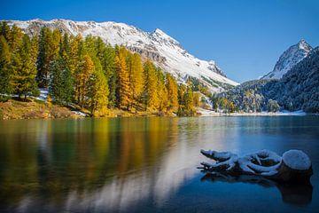 Besneeuwde bergen van Melanie Hinz
