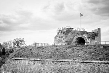 Fort Sint Pieter op de Sint-Pietersberg in Maastricht