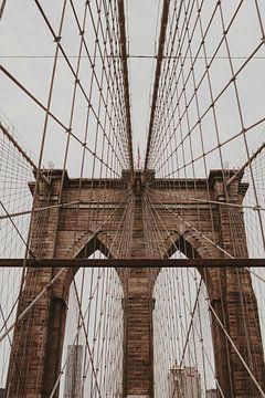Brooklyn-Brücke New York City von Amber den Oudsten