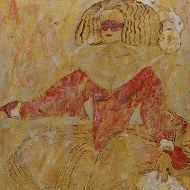 Masquerade,  naar Velasquez van Els Hattink