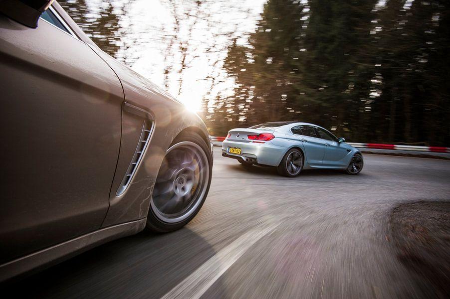Porsche Panamera BMW M6