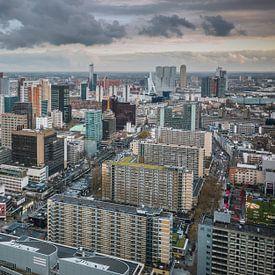 Rotterdam city van Dennis Vervoorn