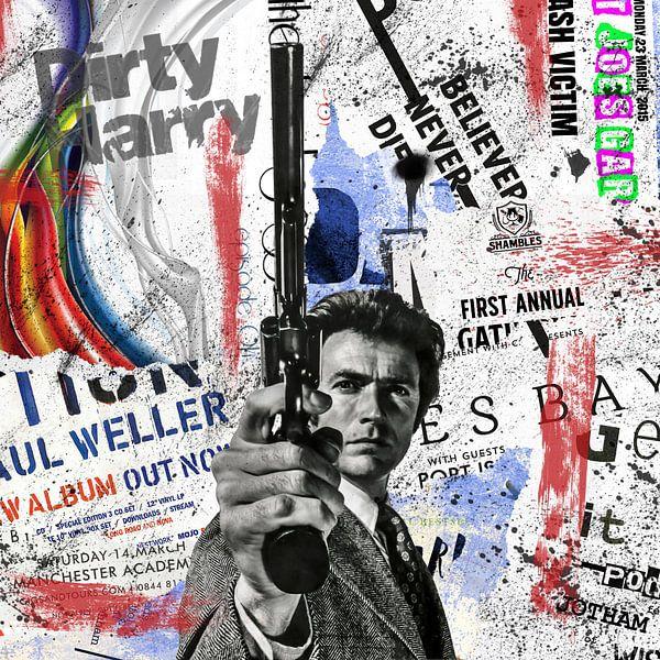 Dirty Harry von Rene Ladenius Digital Art