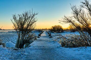 Winterse ochtend van Dokra Fotografie
