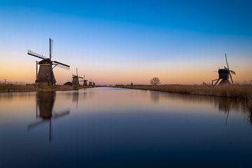 Niederländische Windmühlen von Maikel Brands