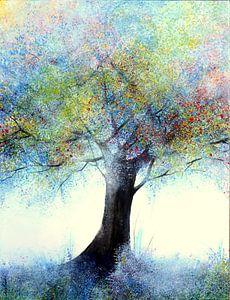 "In the Shadow of the Colors"" van Sophie Duplain"