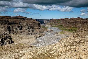 Canyon in het Selfoss gebied van