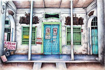 Städte-Serie 04 - Penang von Yeon Yellow-Duck Choi