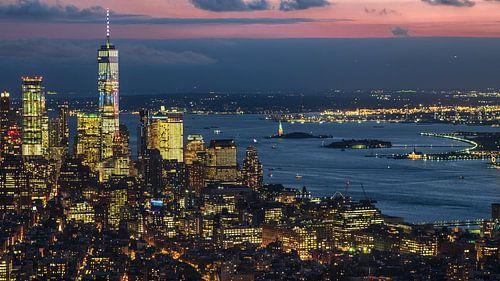 One World und Hudson River  New York van Kurt Krause