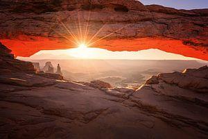 Mesa Arch, Canyonlands van