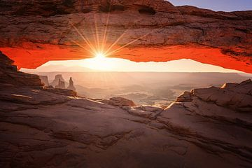 Mesa Arch, Canyonlands von Albert Dros