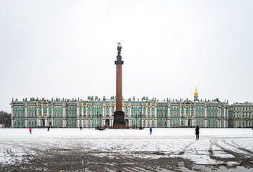 Winterpaleis Sint-Petersburg von Catherine McGivern