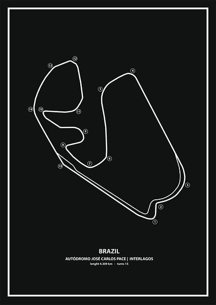 BRAZIL GRAND PRIX   Formula 1 von Niels Jaeqx