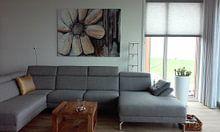 """Kundenfoto: """"The Brown One"""" von Susanne A. Pasquay, auf leinwand"""