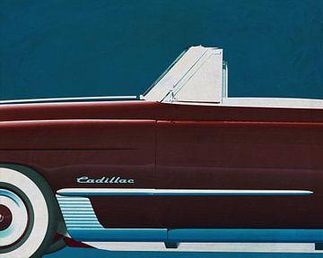 Cadillac Deville 1948 von Jan Keteleer