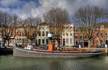 Sleepboot van Jan Kranendonk