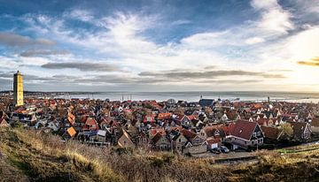 West-Terschelling panorama van Ron van Ewijk