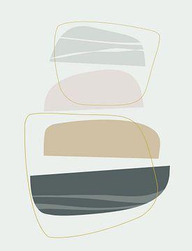 Abstracte samenstelling 1039 van Angel Estevez