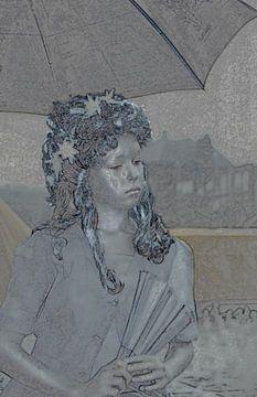 Living Statue van Ronald Jansen