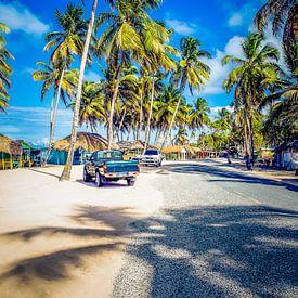 Secret Beach, Sosua,  Dominicaanse Republiek van Tonny Visser-Vink
