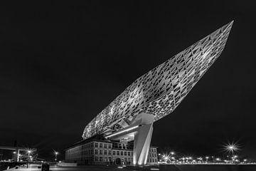Antwerpener Hafengebäude von Jørgen Geers