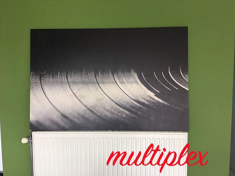Klantfoto: Vinyl van Richard de Bruin, op hout