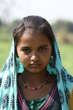 Mädchen von Rajasthan von Cora Unk