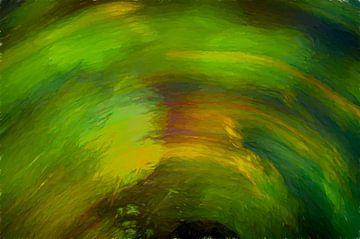 De Waterlelie van Nicolaas Digi Art