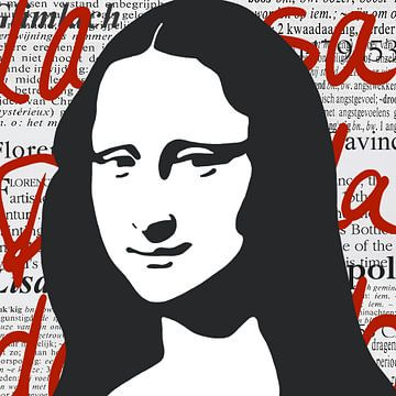 Mona Lisa von Jole Art (Annejole Jacobs - de Jongh)